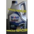 Минерално моторно масло MOBIL SUPER 1000 X1 15W40 5Л.