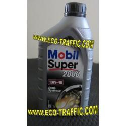 Полусинтетично моторно масло MOBIL SUPER 2000 X1 10W40 1Л.
